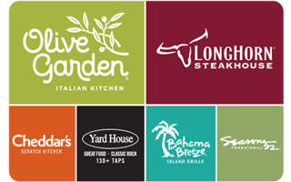 Darden® Restaurants Gift Card Gift Card